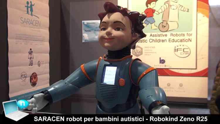 app e robot per bambini autistici